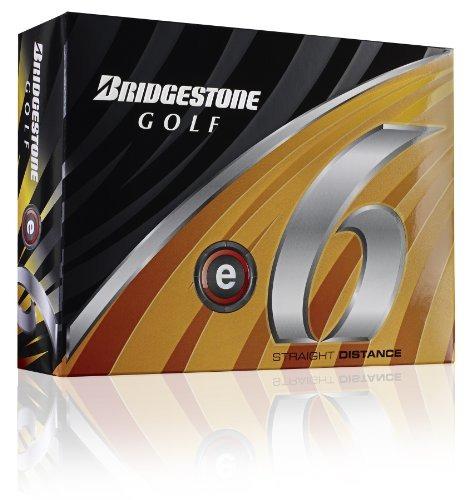 bridgestone e6 blancas pelotas de golf, 1 docena (2011) mod