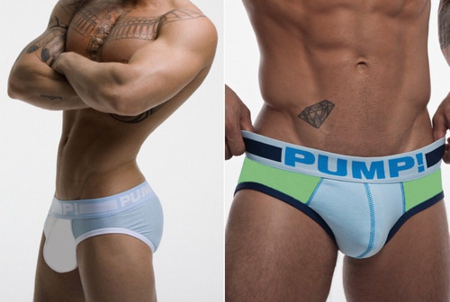 brief para hombre marca pump! l 31-33 inches