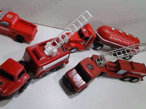 brigada de incendio kit 4 veiculo bombeiro articulado bitrem