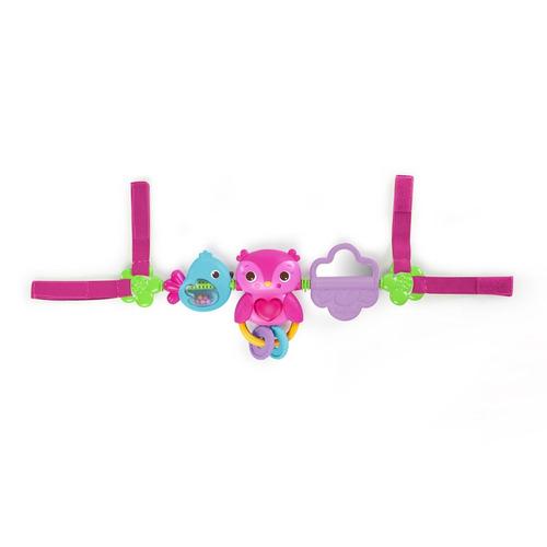 bright starts busy birdies carrier toy bar
