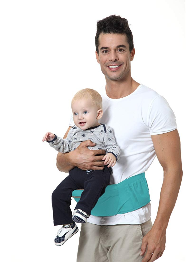 Brighter Elements Ergonomic Baby Carrier With Hip Seat 5 P