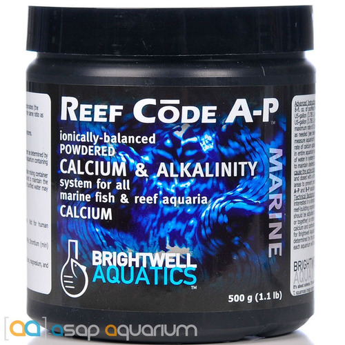 brightwell reef code a-p 250g cálcio e alcalinizante reefs