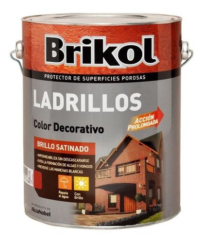 brik-col ladrillos protector impermeabilizante x4lts
