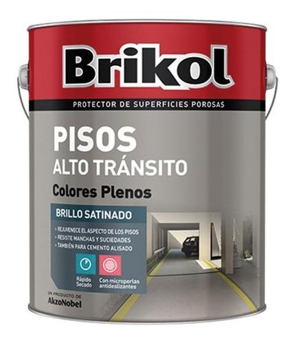 brikol piso alto transito c/microperlas antidezlizante 1lt