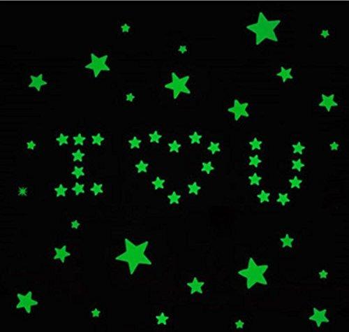 brillando en las estrellas oscuras vinilos decorativos reuti