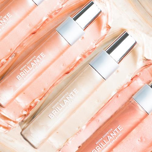brillante #04 | gel traslucido con iluminacion rosada