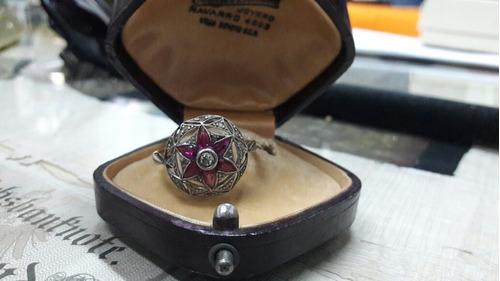 brillantes anillo oro