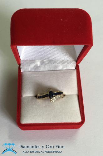 brillantes oro anillo