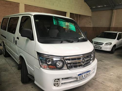 brilliance minibus año 2014 rural diesel