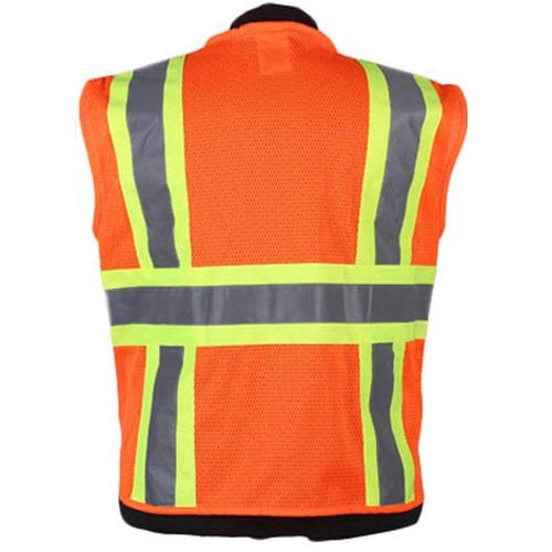 brillo brillante frm7038   chaleco de seguridad alto visibil