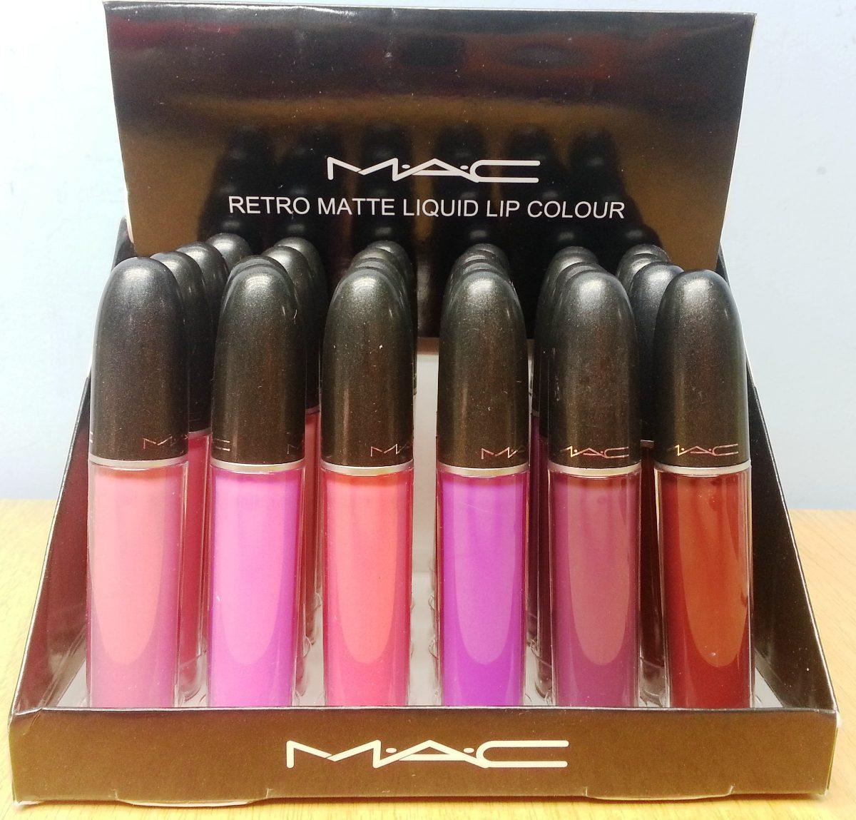 Brillo Mac Matte Larga Duracion Variedad De Colores - Bs. 10.080,00 ...