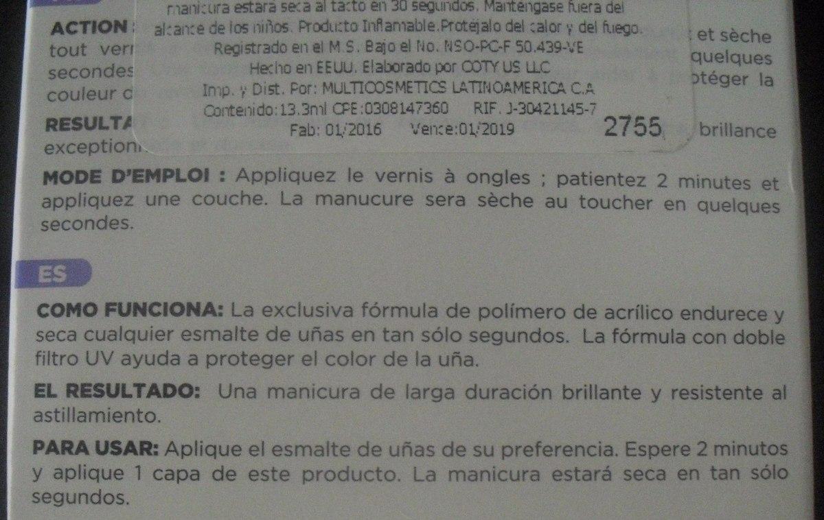 Excelente Esmalte De Uñas Seca Adorno - Ideas de Diseño de Arte de ...