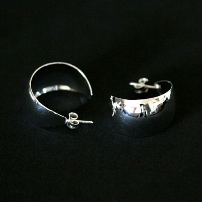 brinco de prata 925 gabbi