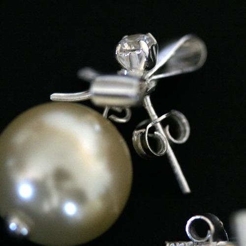 brinco de prata laço coleção dia dos namorados