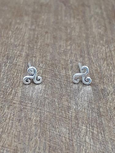 brinco prata 925 - zircônias 4.0