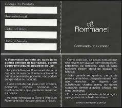 brinco rommanel coleção gio antonelli 2015