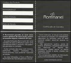 brinco rommanel ref. 522093