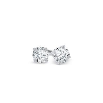 Brinco Solitário 40 Pontos. Diamantes De Qualidade Ouro 18k. - R ... 6bce169fa5