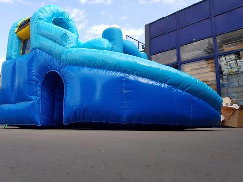 brincolin brinca brinca inflable resbaladilla gigante niño