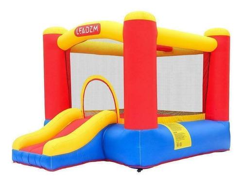 brincolin inflable castillo con resbaladilla fiestas eventos