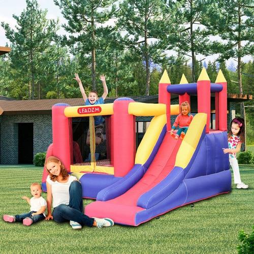brincolin inflable enorme super resbaladilla fiestas eventos