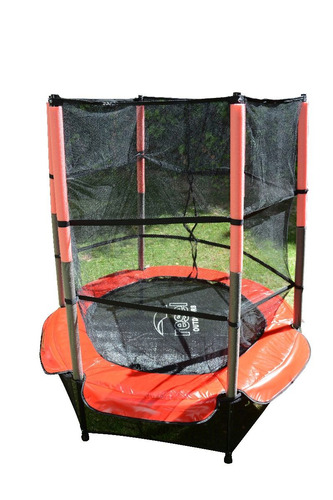 brincolin trampolin tumbling tombling 1.4 m con red juguete