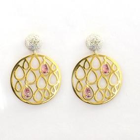 94e532b8c58f1 Bergerson Ouro Brincos Diamantes Anel Bigben - Joias e Relógios no ...