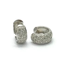 ec45c41406746 Brinco Argola Ouro Branco Diamantes Coleco Lumiere Vivara no Mercado Livre  Brasil