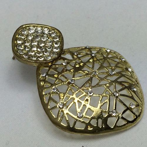 brincos dourado presente mãe esposa namorada
