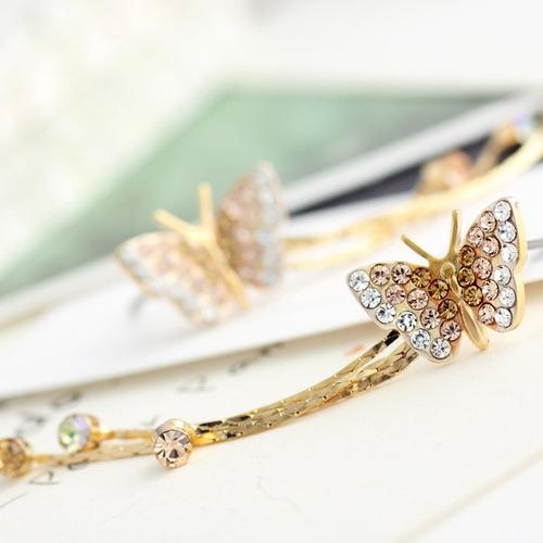 brincos ouro jóia