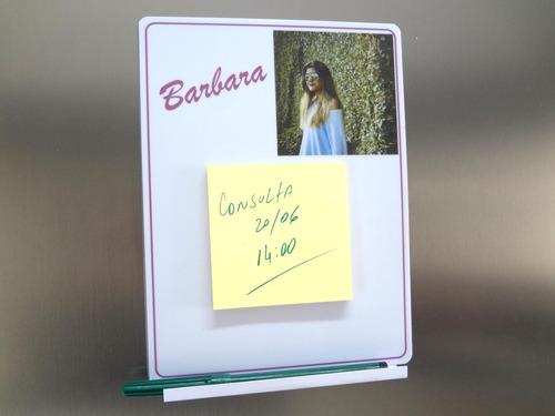 brinde quadro pvc personalizado para geladeira