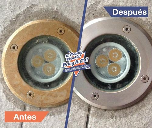 bring it on quita gotas limpia vidrio sarro óxido ymás 946ml