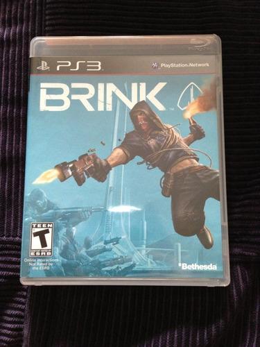 brink   juego playstation 3  ps3