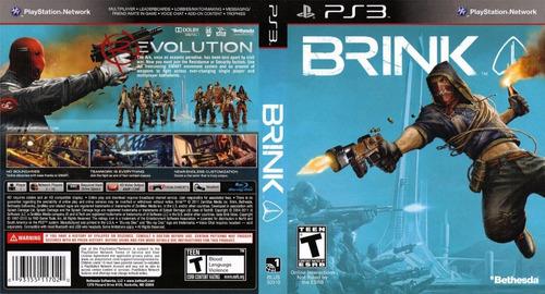 brink ps3 nuevo