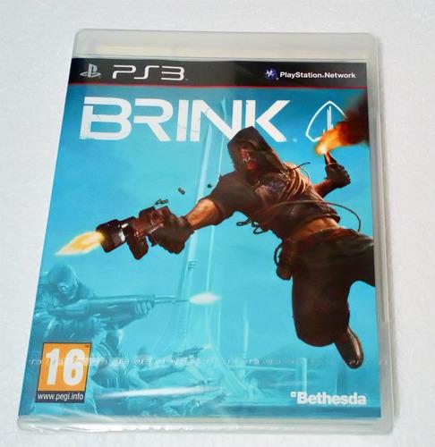 brink ps3 nuevo español envio gratis