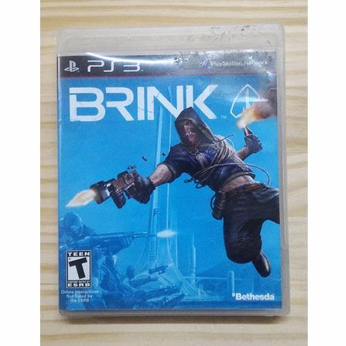 brink ps3 usado fisico original