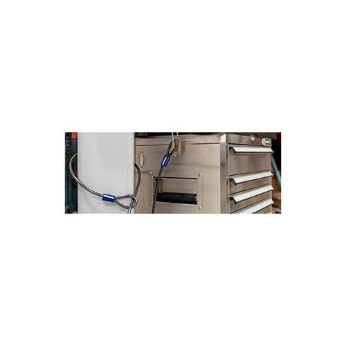 brinks 175-38150 cable de acero (con extremos de bucle) 15 l