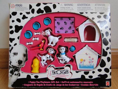 brinquedo 102 dálmatas, mattel, completo na caixa