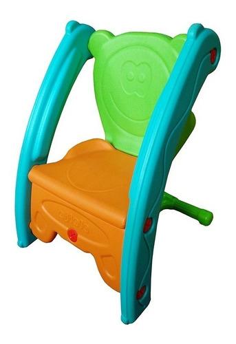 brinquedo 2 em 1 gangorra e cadeira infantil inmetro