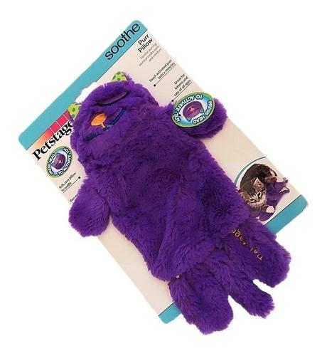 brinquedo almofada diferente que ronrona p/ gato e filhote