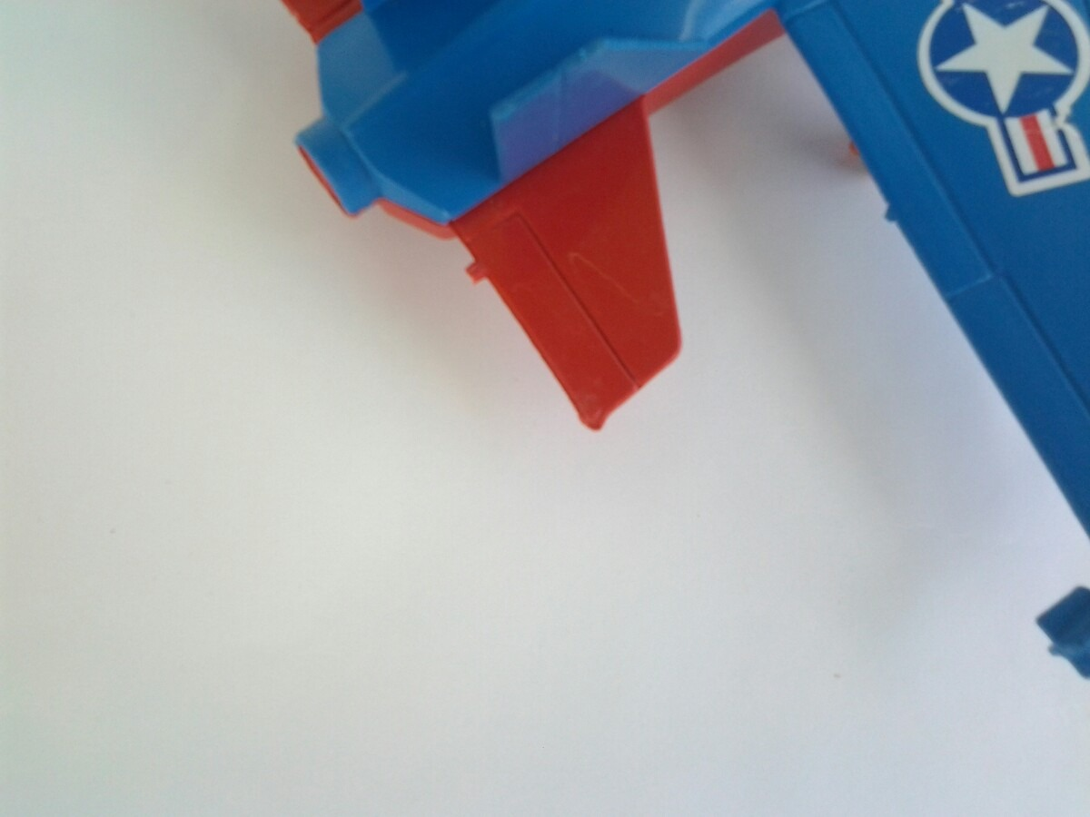 Brinquedo antigo avi o de pl stico duro r 9 90 em for Piscina plastico duro