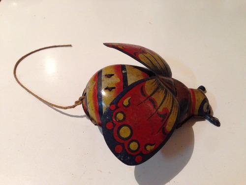 brinquedo antigo germany besouro metal r