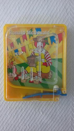 brinquedo antigo mc donalds - mc lanche feliz