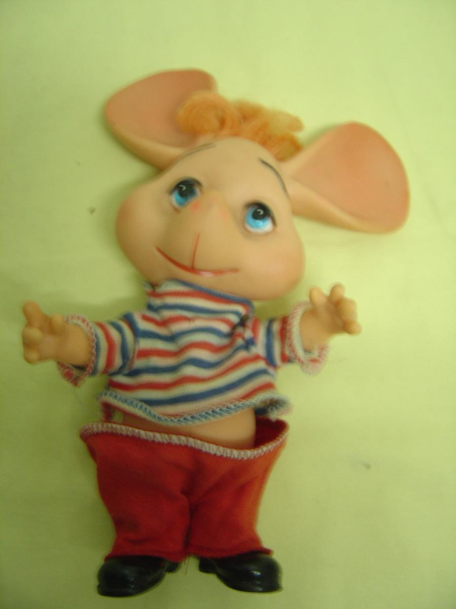 Brinquedo Antigo Topo Gigio Da Estrela Made In Brasil