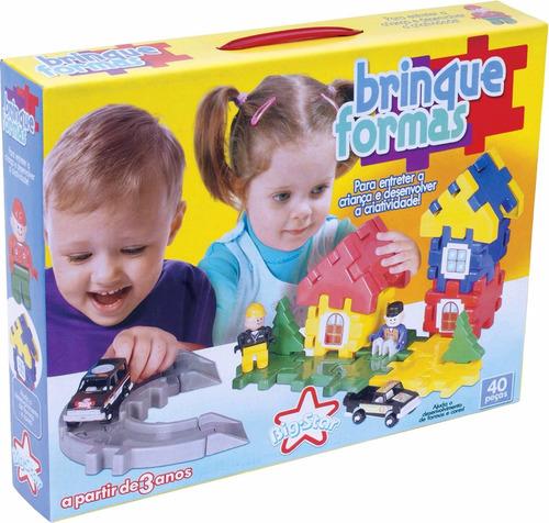 brinquedo barato para crianças de 3 anos - brinque formas