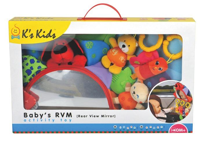Brinquedo Beb Retrovisor De Carro Do Patrick K10569 Ks