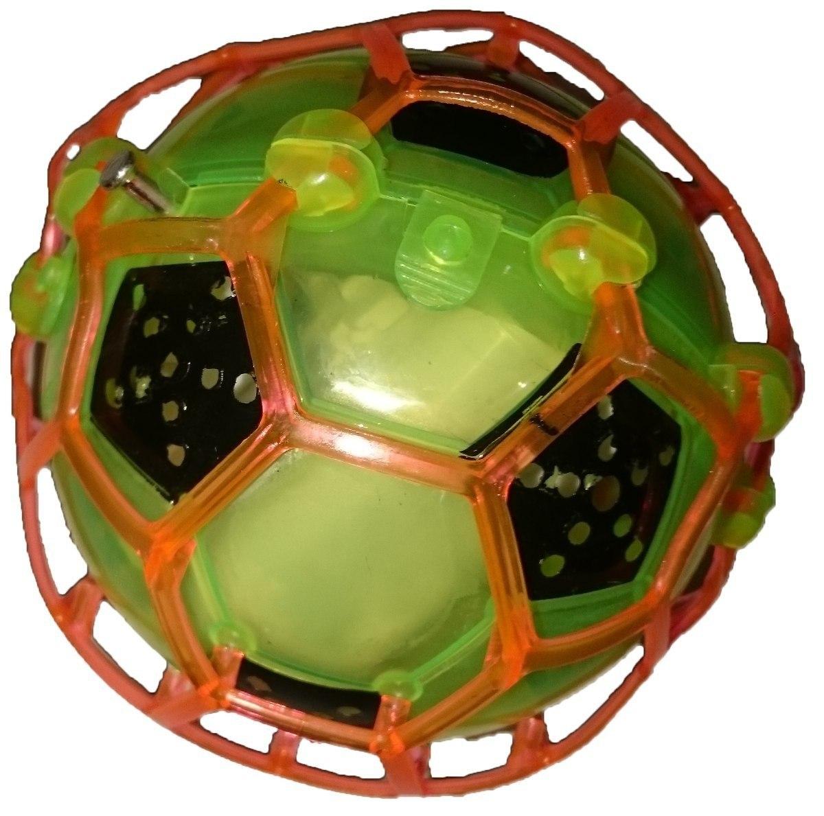 01c1f645e5 Brinquedo Bola Maluca Bebê Criança Pula Vibra C  Luz De Led - R  27 ...