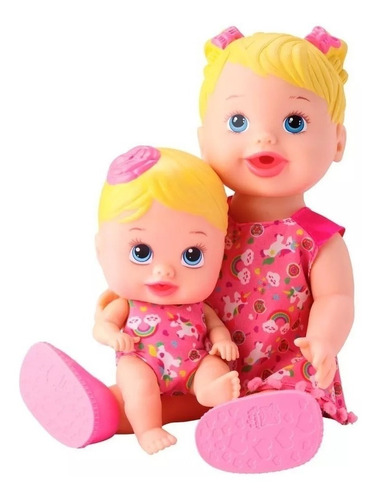 brinquedo boneca my little tal mãe tal filha divertoys meninas brincando