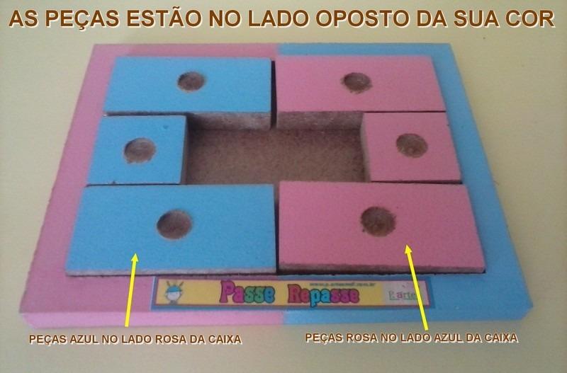 3068b8e34 brinquedo brinde quebra cabeça peças desafio passe repasse. Carregando zoom.