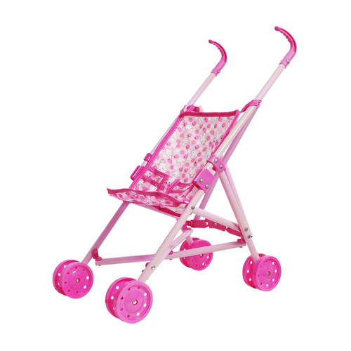 brinquedo carrinho de boneca bebê passeio dobrável infantil